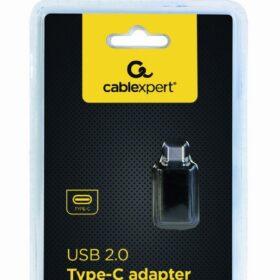 CableXpert USB 2.0 Typ-C-adapter (CM / AF) CC-USB2-CMAF-A