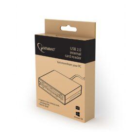 Gembird Interni čitač / pisač USB kartica crni FDI2-ALLIN1-02-B
