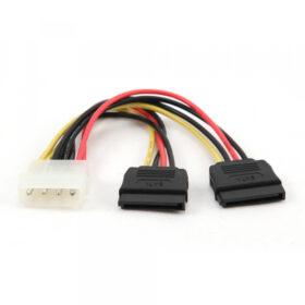 CableXpert 2 Serielles ATA 30 cm Stromkabel CC-SATA-PSY-0.3M