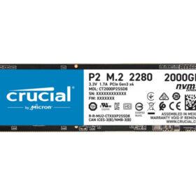 Presudno P2 - 2000 GB - M.2 - 2400 MB / s CT2000P2SSD8