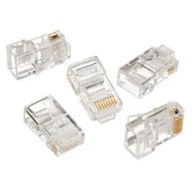 Modularni konektor 8P8C za čvrsti LAN kabel 100 paketa LC-8P8C-001/100