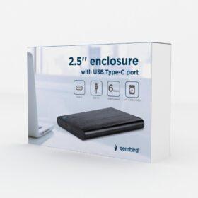 Gembird USB 3.0 2.5 Festplatten Gehäuse EE2-U3S-6