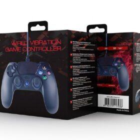 Gembird žičani kontroler vibracija za PlayStation 4 JPD-PS4U-01