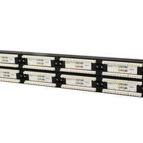 CableXpert Cat.6 48-priključna zakrpna ploča sa stražnjim upravljačem kabela. NPP-C648CM-001