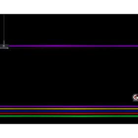 Gembird igraća podloga za miša s LED svjetlosnim efektom MP-GAMELED-L