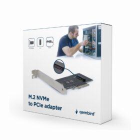 Gembird M.2 SSD-adapter PCI-Express karte PEX-M2-01