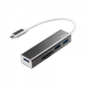 Logilink USB-C 3.0 HUB 3 porta i čitač kartica (UA0305)