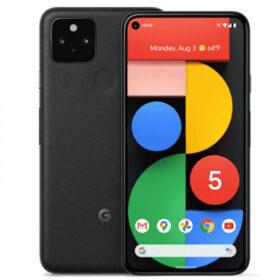 Google Pixel 5 128 GB crni GA01316-DE