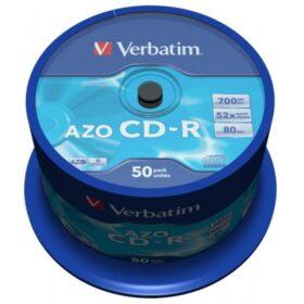 CD-R 80 Verbatim 52x DLP AZO 50 kutija za torte 43343