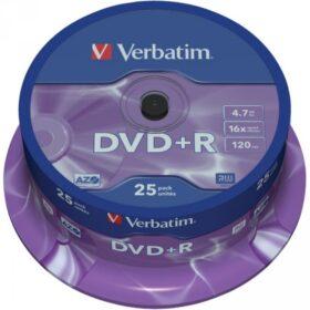 DVD + R 4,7 GB Verbatim 16x 25 torta za torte 43500