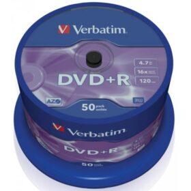 DVD + R 4,7 GB Verbatim 16x 50 torta za torte 43550