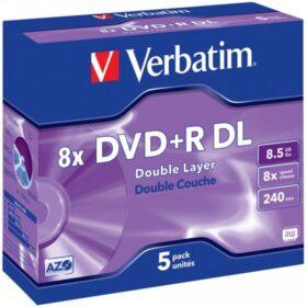 DVD + R 8,5 GB Verbatim 8x 5 JC 43541