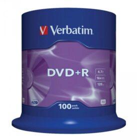 DVD + R 4,7 GB Verbatim 16x 100 torta za torte 43551