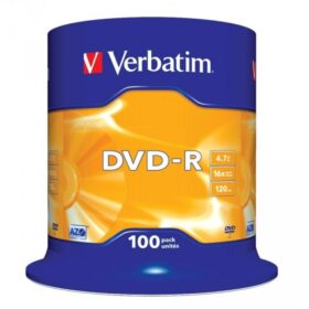 DVD-R 4,7 GB Verbatim 16x 100 torta za torte 43549