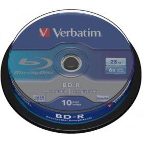 BD-R 25GB Verbatim 6x 10 torta za torte 43742
