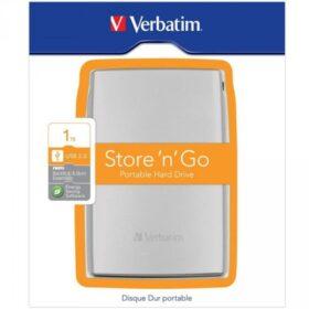 HDD 2.5 USB3 1TB Verbatim Store n Go Silver 53071