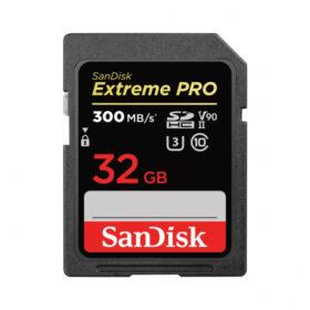 SanDisk Extreme PRO 32 GB SDHC KARTICA UHS-II V90 300 MB / s SDSDXDK-032G-GN4IN